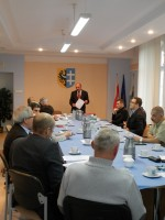 Posiedzenie Powiatowego Zespołu Zarządzania Kryzysowego i Komisji Bezpieczeństwa i Porządku dla Powiatu Wschowskiego
