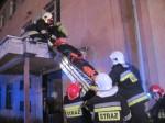 Pożar w budynku PONAR-REMO