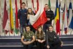 Uczniowie I Liceum Ogólnokształcącego z Oddziałami Dwujęzycznymi w Brukseli