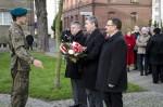 Uroczystość odsłonięcia płyty nagrobnej i 5 rocznica powstania pomnika Kresowian