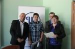 Laureat Wojewódzkiego Konkursu z przepisów prawa pracy i BHP