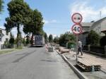 Remont chodnika na ulicy Waryńskiego