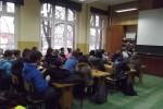 Spotkanie w I Zespole Szkół z przedstawicielką Stacji Sanitarno-Epidemiologicznej