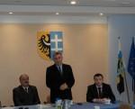 Spotkanie dotyczące bezpieczeństwa na terenie Powiatu Wschowskiego