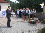 II rocznica poświęcenia Pomnika Pomordowanych na Wołyniu