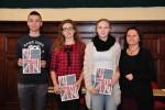 II Międzyszkolny Konkurs Wiedzy o Krajach Anglojęzycznych w I Zespole Szkół