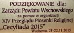 Podziękowania dla Zarządu Powiatu Wschowskiego