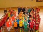 II Mikołajkowy Powiatowy Turniej Piłki Halowej Młodzików