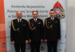 Uroczyste przekazanie obowiązków Komendanta Powiatowego PSP we Wschowie