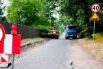 Wykonują przebudowę drogi Wschowa-Buczyna(Papiernia)