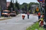 Trwa przebudowa ulicy Waryńskiego w Sławie