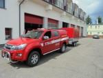 Nowy sprzęt dla Komendy Powiatowej Państwowej Straży Pożarnej we Wschowie