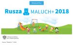 "Rusza edycja 2018 programu ""Maluch+"""