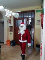 Mikołaj przyjechał z daleka…