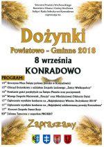Dożynki Powiatowo-Gminne w Konradowie