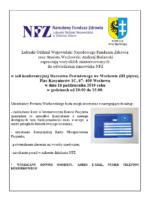 Stanowisko NFZ w Starostwie Powiatowym we Wschowie w dniu 16.10.br.