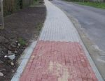 Budowa chodnika w Zamysłowie
