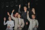Uczniowie I Liceum Ogólnokształcącego w Teatrze Miejskim w Lesznie