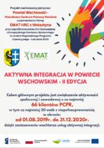 Aktywna integracja w Powiecie Wschowskim-II edycja