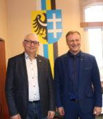 Spotkanie z  Dyrektorem Departamentu Infrastruktury Społecznej Mirosławem Glaz