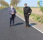 Zakończono powiatową inwestycję drogową
