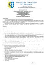 Zawiadomienie o XVI sesji Rady Powiatu Wschowskiego