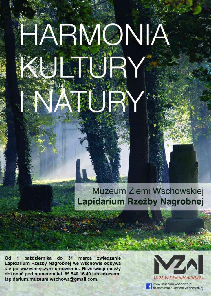 informacja dotycząca zwiedzania Lapidarium w okresie jesienno-zimowym