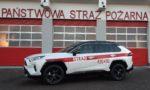 Samochód TOYOTA RAV4 dla Komendy Powiatowej Państwowej Straży Pożarnej we Wschowie