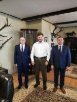 Spotkanie z Pawłem Lisiakiem  – Przewodniczącym Zarządu Głównego Polskiego Związku Łowieckiego i Łowczym Krajowym