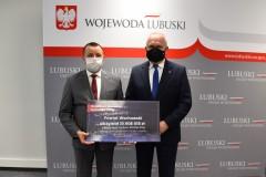 Starosta Wschowski Andrzej Bielawski  z Wojewodą Lubuskim Władysławem