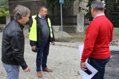 Trwają intensywne prace na ul. Dworcowej w Szlichtyngowej