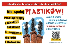 plakat Plastik-nie-do-pieca