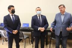 od lewej: Jakub Ślipko, Andrzej Bielawski, Krzysztof Grabka