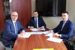 od lewej: Waldemar Starosta, Andrzej Bielawski, Piotr Pietruszko