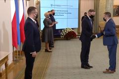 Wręczenie powołania  Panu Andrzejowi Bielawskiemu do Rady ds. Samorządu Terytorialnego