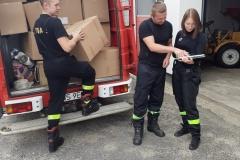 przekazanie środków ochrony osobistej przychodniom z terenu Powiatu Wschowskiego