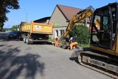 Trwa remont ul. Dworcowej w Szlichtyngowej