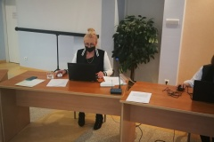Przewodnicząca Rady Powiatu Wschowskiego Jolanta Denesiuk