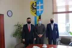 od lewej: Mariusz Herbut, Andrzej Bielawski, Jan Pabierowski