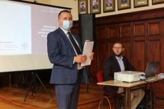 Starosta Wschowski Andrzej Bielawski otworzył ostatnie spotkanie konsultacyjne