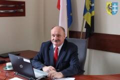 Naczelenik Wydziału Zarządzania Kryzysowego Andrzej Andrusiak