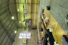 sala gimnastyczna w trakcie remontu